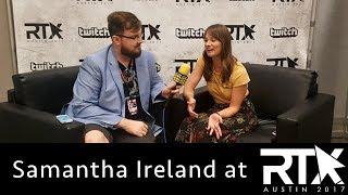 Samantha Ireland Talks RWBY and Camp Camp | RTX2017