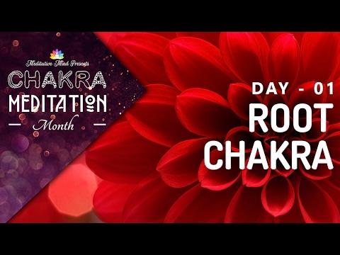 Chakra Sleep Meditation Music | ROOT CHAKRA MEDITATION Balancing & Healing Music | CMM - 01