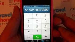 Звонки из Украины с МТС, KYIVSTAR и стационарного на TravelSIM