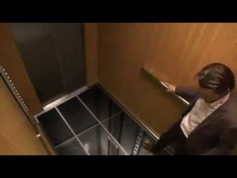 Pegadinha do elevador em 3D