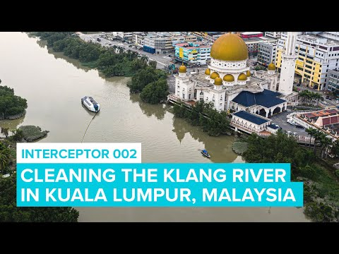 Cleaning Rivers In Malaysia with Interceptor 002 | Cleaning Rivers | The Ocean Cleanup