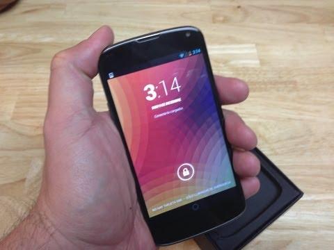 Nexus 4 de Google análisis y especificaciones