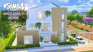 Big Family Home   No CC   Artworks   Stop Motion   Sims 4 Video