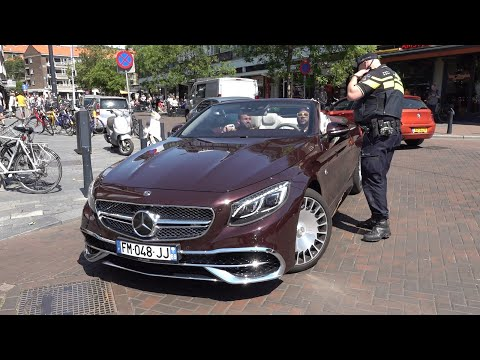 Sportcars in Rotterdam 2020! Police, Mercedes-Maybach S650, GT63, A45s AMG, F12, R8 & More!