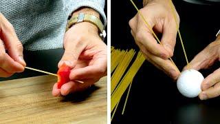 5 Tricks, für die du rohe Spaghetti brauchst