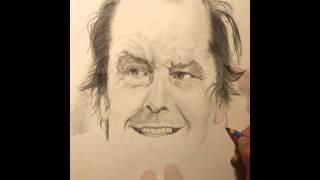 Speed Drawing - Jack Nicholson