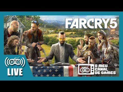 [Live] Far Cry 5 (Xbox One) - Até Zerar AO VIVO #1 [Sorteio PS4 GRÁTIS Descrição]