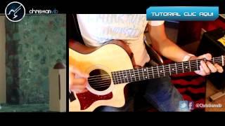Hablame de ti - BANDA MS - Acustico Cover Guitarra Demo Christianvib