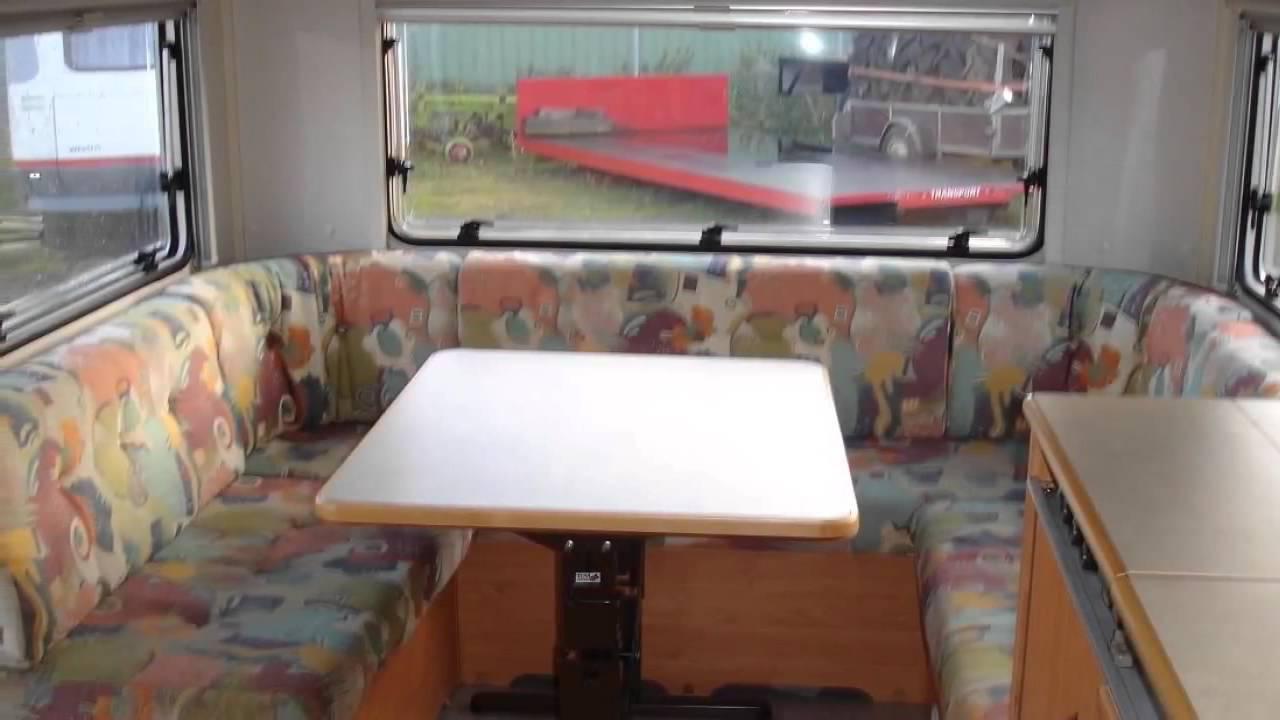 Caravan Met Kinderkamer : Caravan te koop knaus tk met kinderkamer