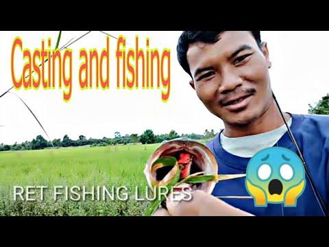 #casting# Fishing #retfishing.     Fishing In The Natural Lake