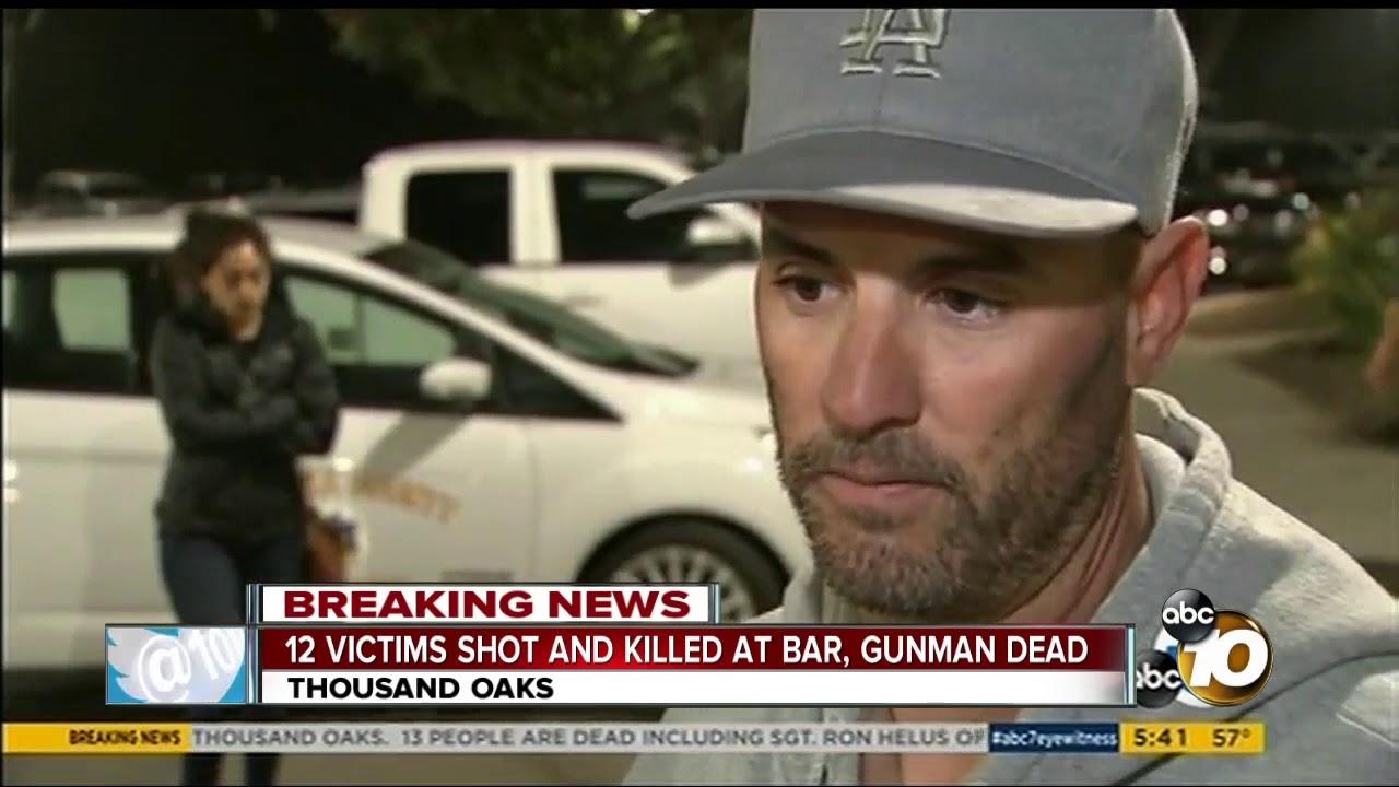 12 dead in mass shooting at Thousand Oaks bar