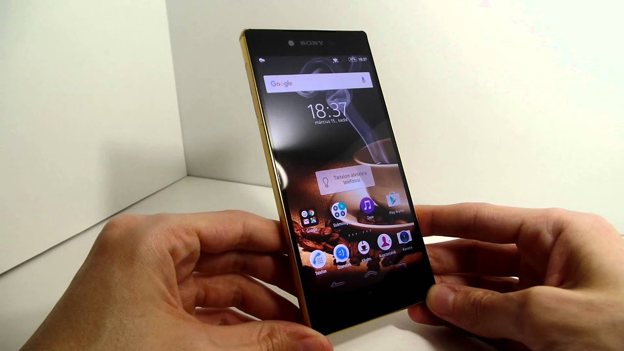 sony xperia z5 premium gold. sony xperia z5 premium gold with android 6 0 marshmallow unboxing video