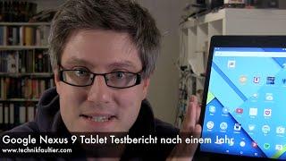Google Nexus 9 Tablet Testbericht nach einem Jahr