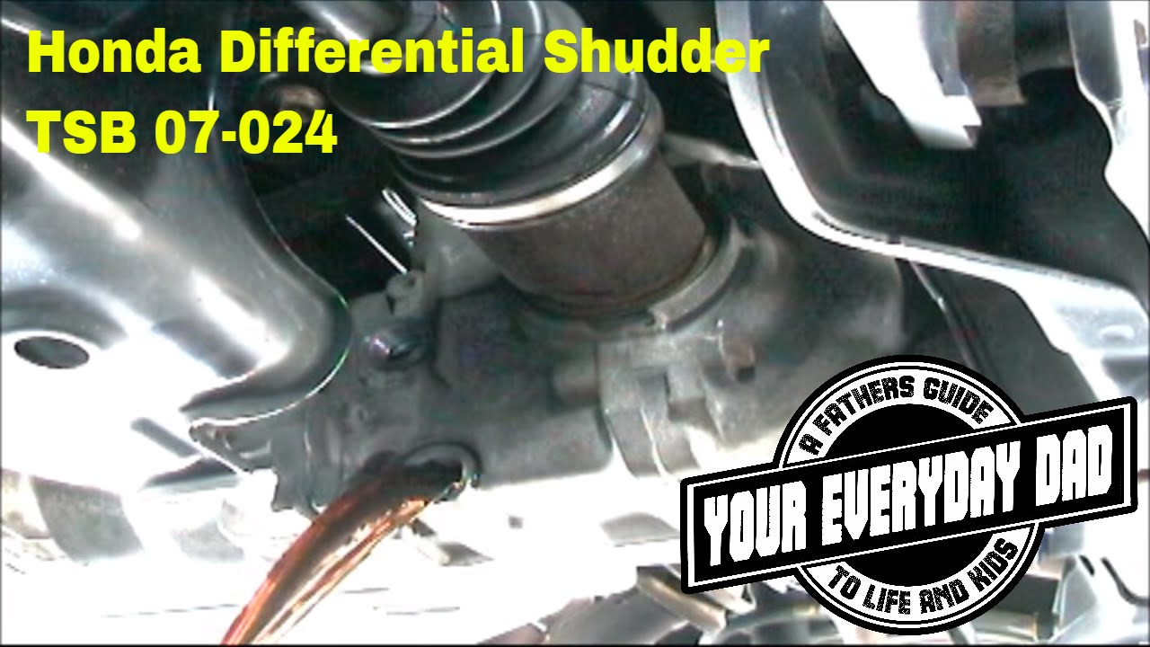 how to fix honda cr v rear end noise differential shudder vibration [ 1280 x 720 Pixel ]