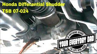 2004 Honda CR-V Rear Differential Shudder/Noise