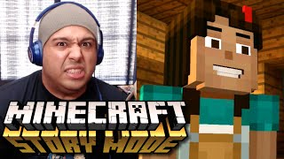 THIS SH#T GOT A STORY MODE? [MINECRAFT: STORY MODE]