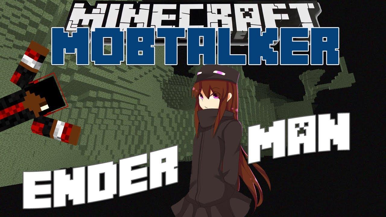 Minecraft Mob Talker Script Showcase Andr The Enderwoman