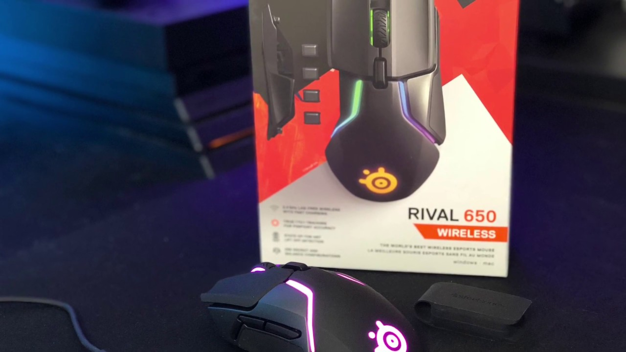 3a33143e796 SteelSeries Rival 650 Review - YouTube