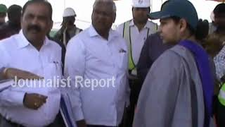 IAS Officer Smitha Sabarwal Visti Kaleshwaram Project || Telangana