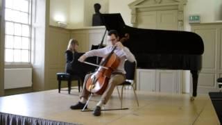 Debussy Cello Sonata - First movement