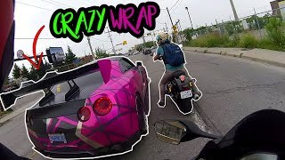 this GTR is CRAZY! *car cuts me off*