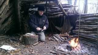 Bushcraft Skills weniger Qualm am Lagerfeuer