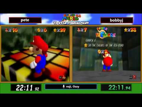I get destroyed in a SM64 speedrun race and the commentators were too nice about it.