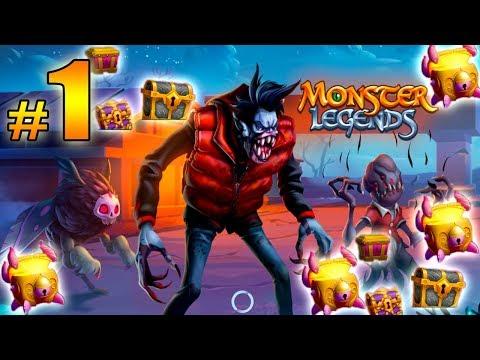 Monster Legends - Island Maze Of Hidden Creatures - Mothman |#1 + open chest ( ABRIMOS COFRES )