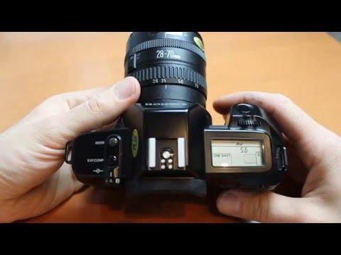 Canon EOS 650 Bedienungsanleitung und Testbericht einer analogen Spiegelreflexkamera