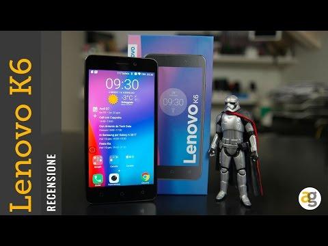 RECENSIONE Lenovo K6