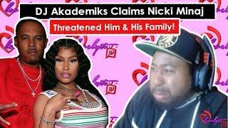 DJ Akademiks Claims Nicki Minaj Threatened Him & His Family Via DM #fullbreakdown