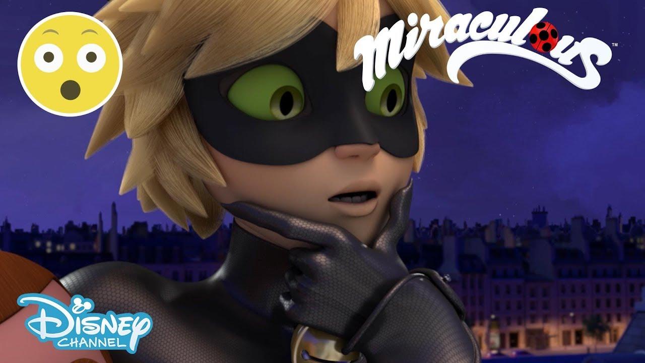 Download Miraculous Ladybug | Cat Noir Sees Marinette's Transformation?! 😱 | Disney Channel UK