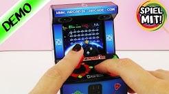Arcade Automat für das Smartphone | Space Invaders zocken mit Joystick | Mini Spielautomat