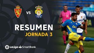 Resumen de Real Zaragoza vs UD Las Palmas (2-2)