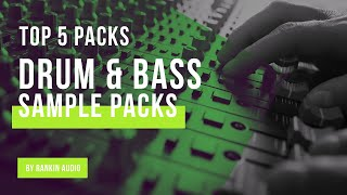 Top 5 | The Best Drum Bass Sample Packs (DB) from Rankin Audio | Samples Loops Sounds