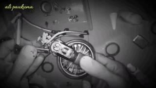 Nyesel gk nonton Cara membuat miniatur drag bike mio