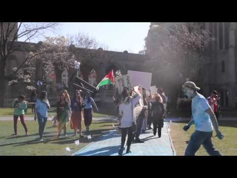 Boston Students for Justice in Palestine Protest Discrimination