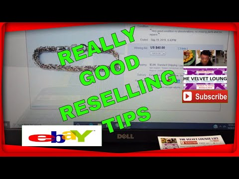 V L Reselling Tips What Sold For Ebay Facebook Markeplace More Youtube