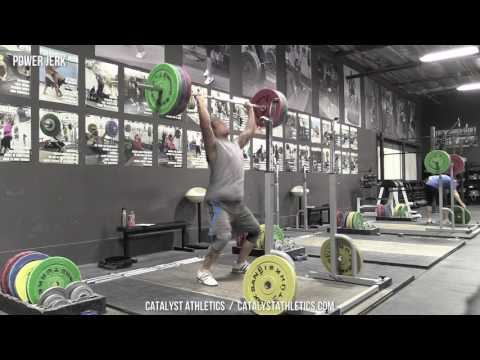 Power Jerk - Olympic Weightlifting Exercise Library - Catalyst Athletics