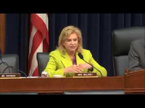 """Rep. Maloney Opening for """"Legislative Proposals to Enhance Capital Formation"""" -  05/17/2015"""