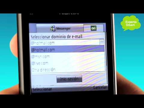 Nokia E5 - Cómo Configurar Windows Messenger