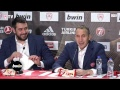 Live Press Conference Olympiacos - Buducnost
