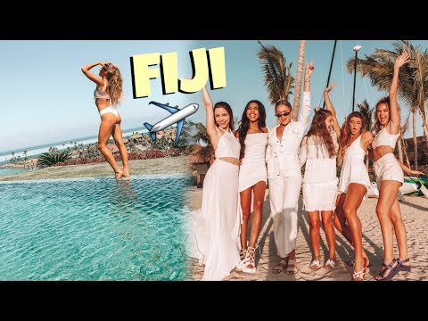 Youtubers Take Over Fiji... $10,000 A Night Villa Tour! DAY 1