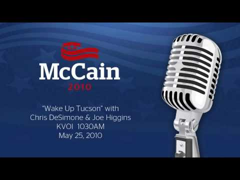 "Senator McCain on ""Wake Up Tucson"" Radio Show_May 25"