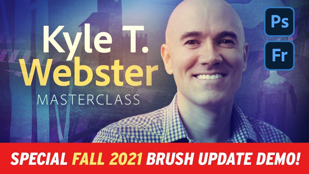 Illustration Masterclass - Fall 2021 NEW Brushes!