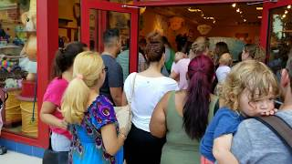 Build a Bear Pay Your Age Day part1