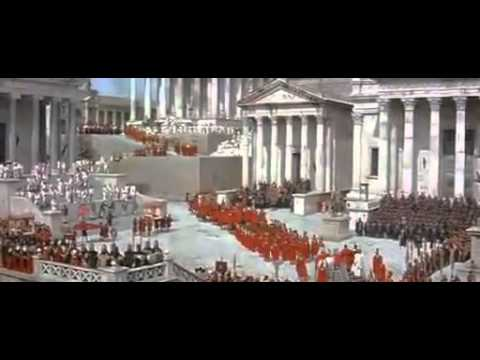 The Fall of The Roman Empire 1964 Commodus Parade