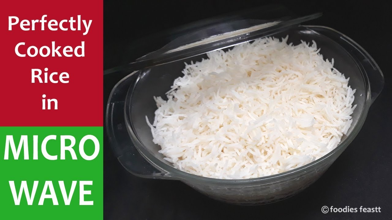 How to cook rice in a microwave oven