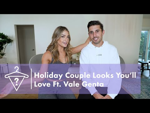 Holiday Couple Outfit Ideas with Vale Genta | #StyledByGUESS