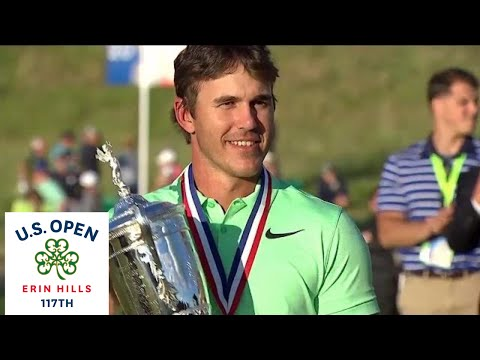 Brooks Koepka wins his first major championship at the U.S. Open